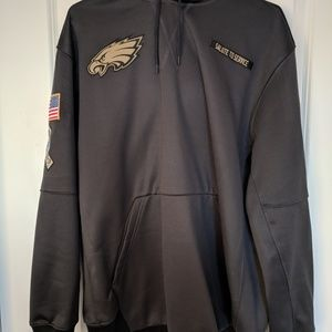 buy popular 50216 58bc7 Philadelphia Eagles Salute To Service Hoodie